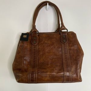 Frye Melissa Large Antique Italian Leather Tote